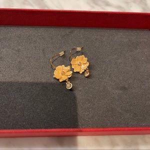 Pilgrim Flower Earrings